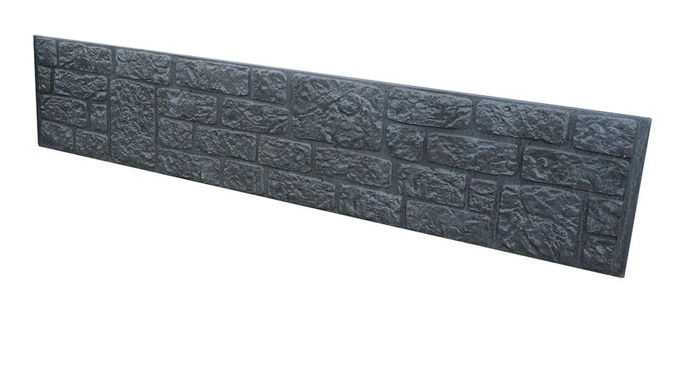 Romeins motief - antraciet - groot