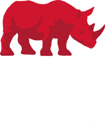 logo h&s - wit